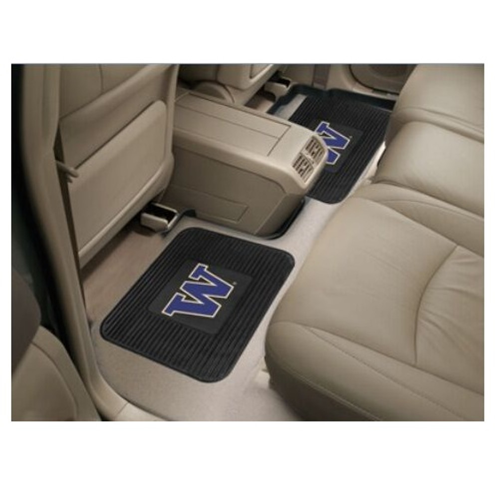 Washington Huskies Utility Car Mats Set of Two | Fanmats | 13262