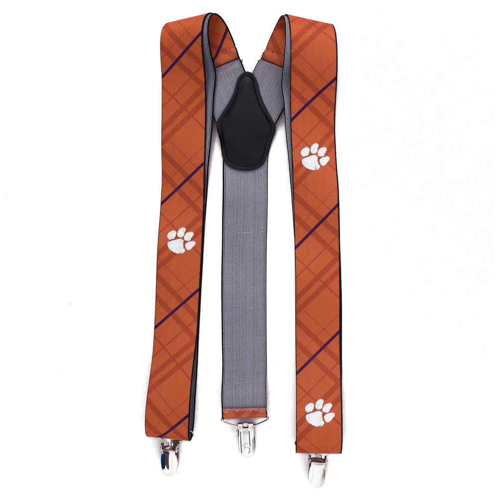 Clemson Tigers Oxford Suspenders | Eagles Wings | 8006