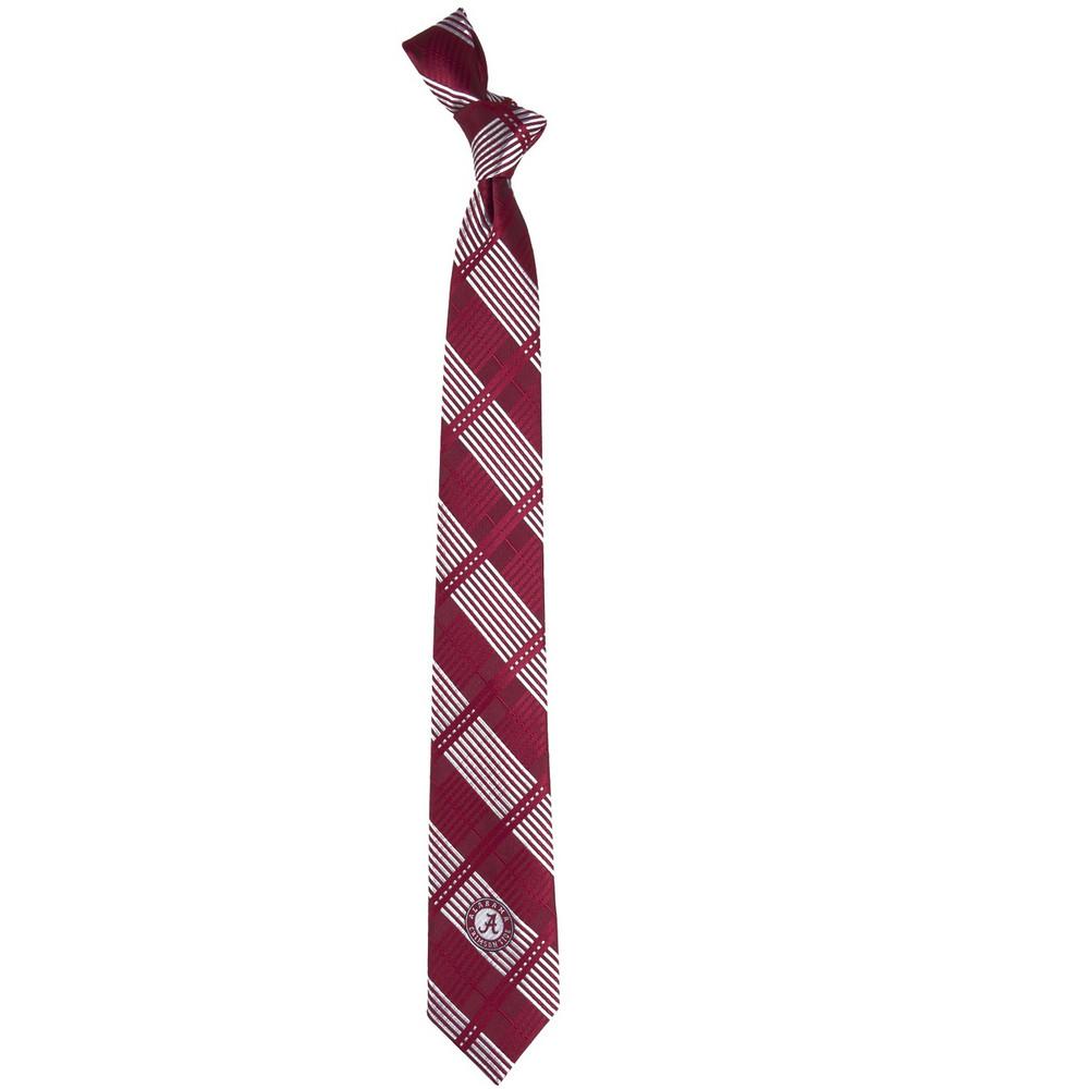 Alabama Crimson Tide Plaid Skinny Tie | Eagles Wings | 3831