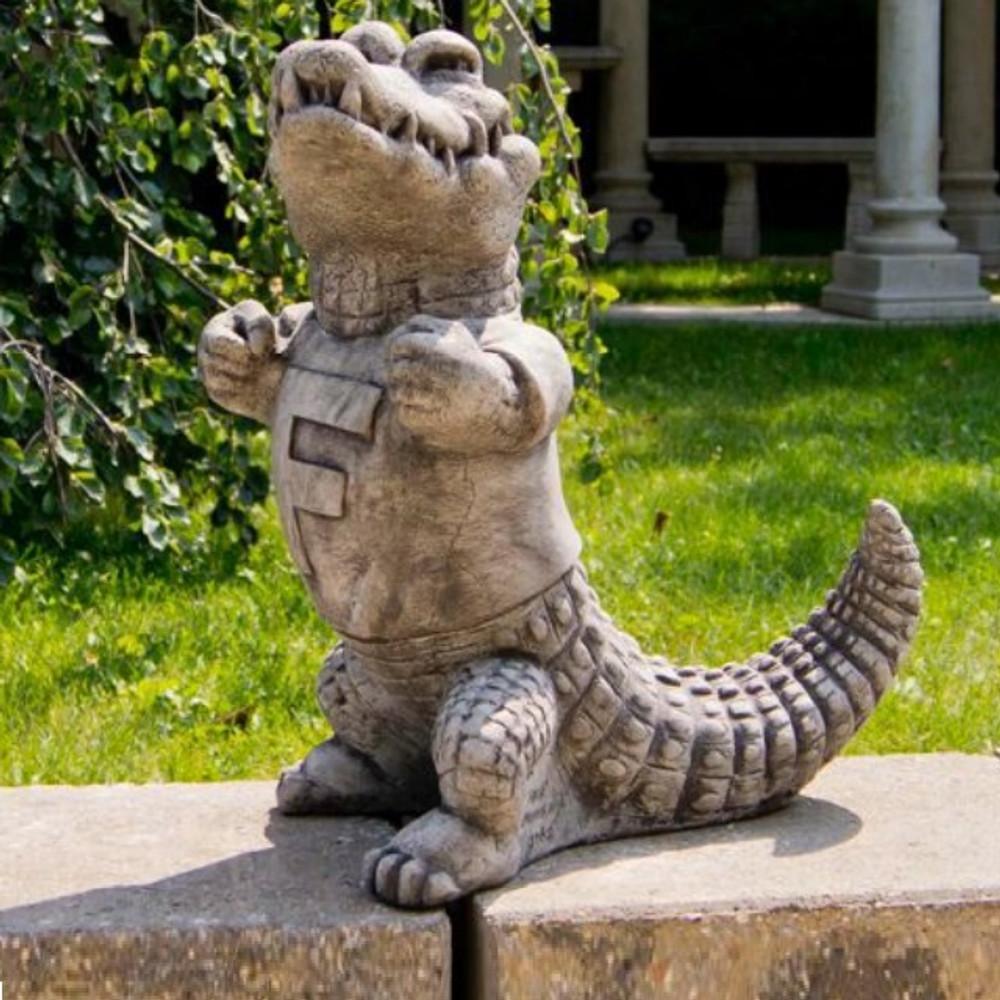 Florida Gators Vintage Mascot Garden Statue   Stonecasters   2782TR