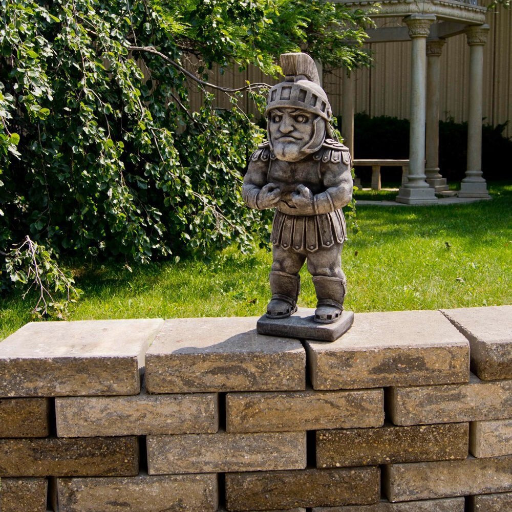 MSU Spartans Vintage Mascot Garden Statue