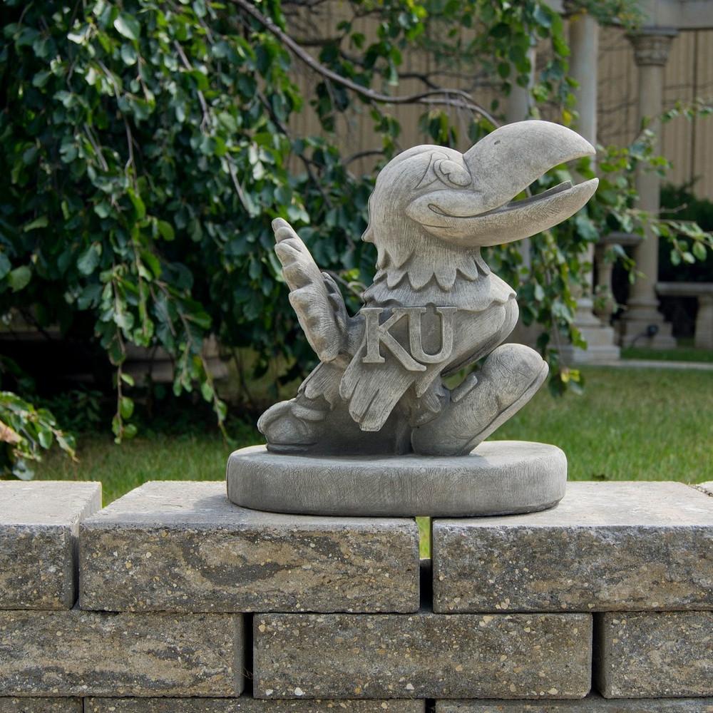 Old Garden Statue: Kansas Jayhawks Vintage Mascot Garden Statue