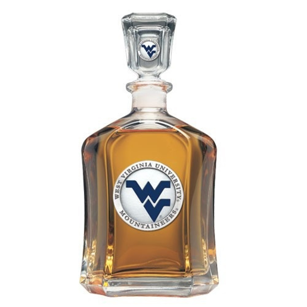 West Virginia Mountaineers Capitol Decanter | Heritage Pewter | CPT10205EB