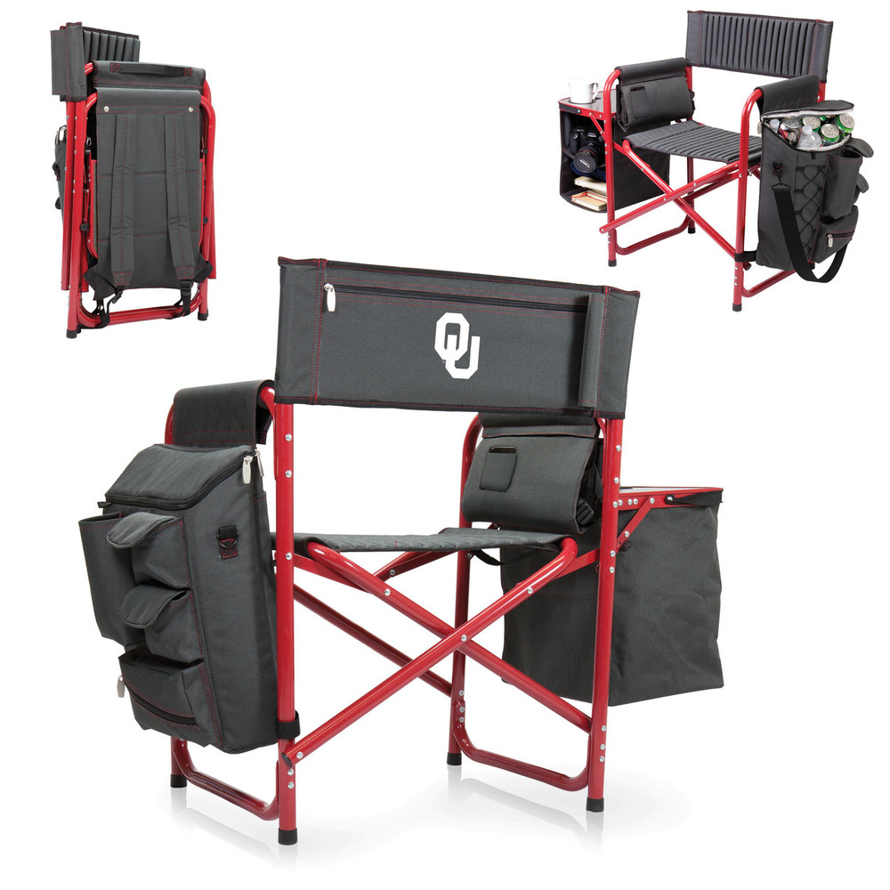 Oklahoma Sooners Fusion Tailgating Chair