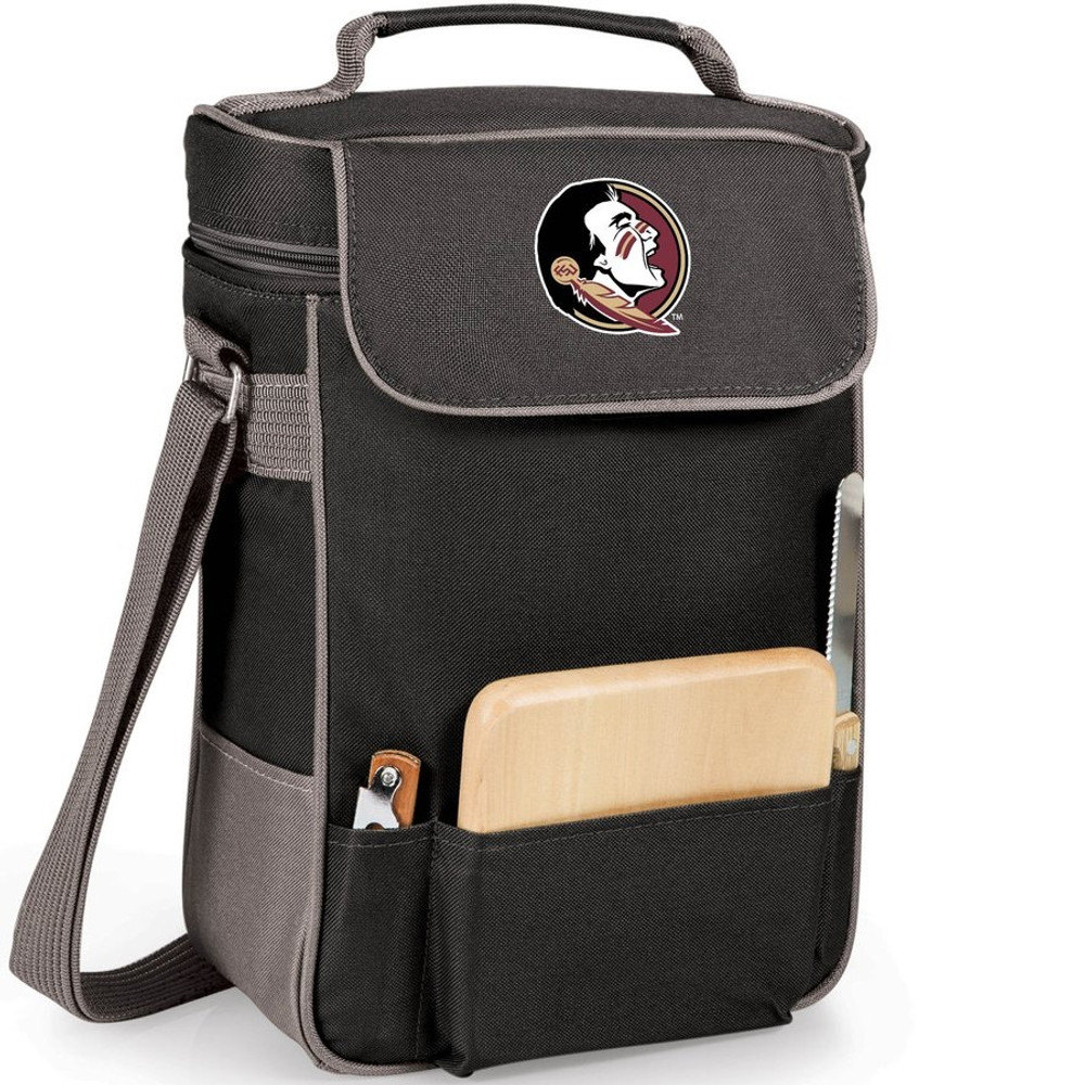 Florida State Seminoles Duet Wine and Cheese Picnic Tote | Picnic Time | 623-04-175-182-0-1