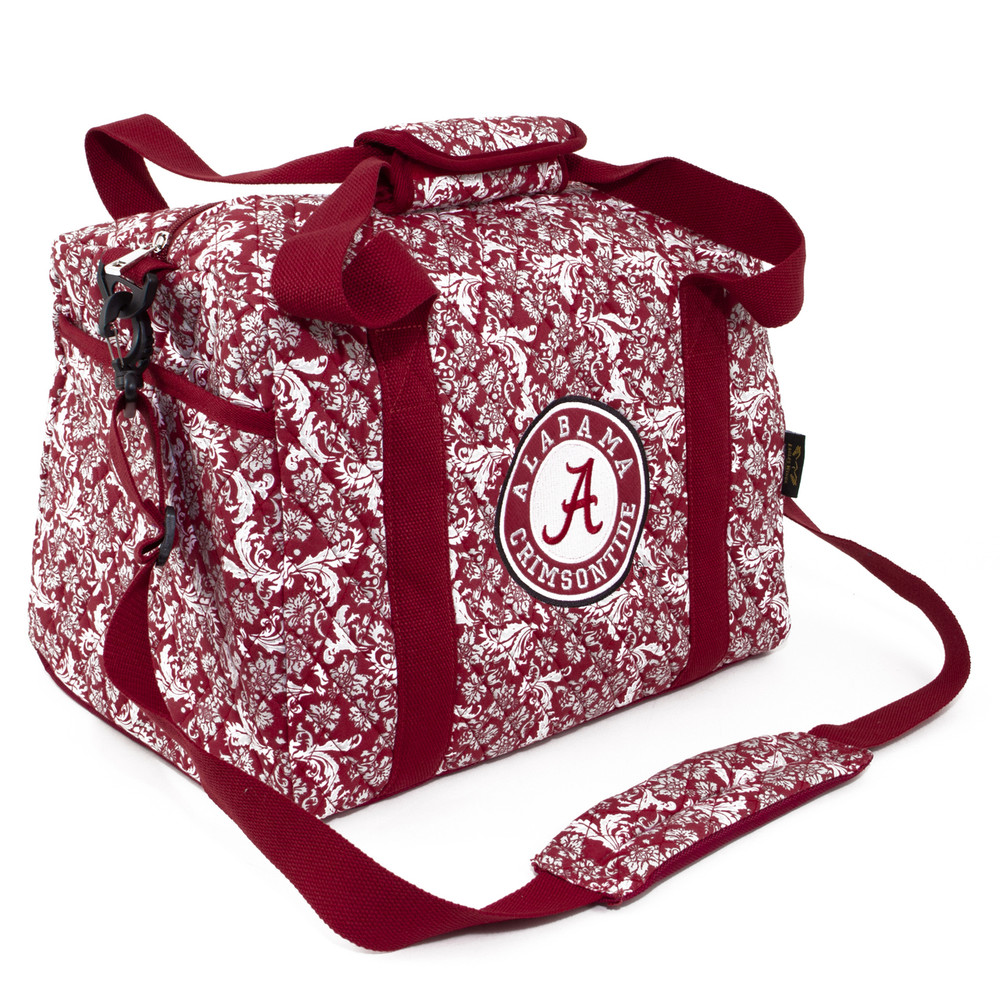 Alabama Crimson Tide Quilted Cotton Mini Duffle Bag