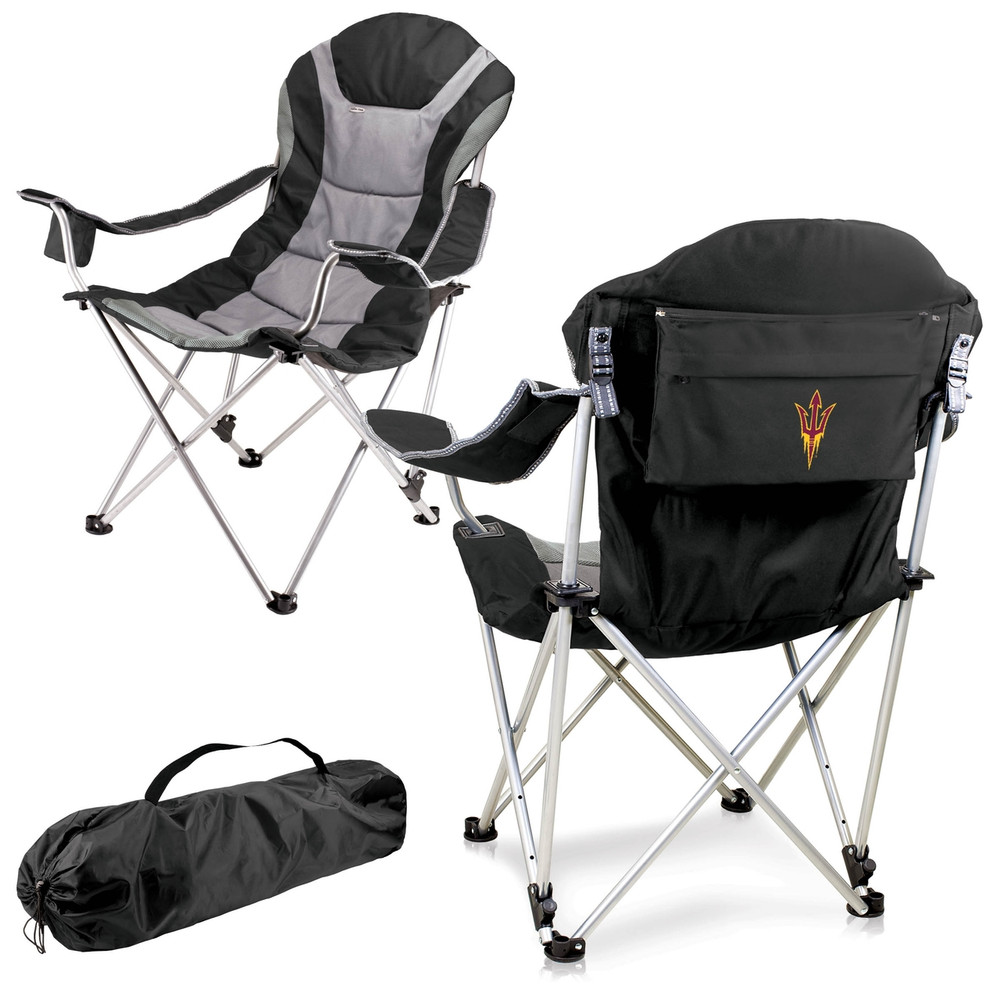 Arizona State Sun Devils Reclining Camp Chair | Picnic Time | 803-00-175-024-0