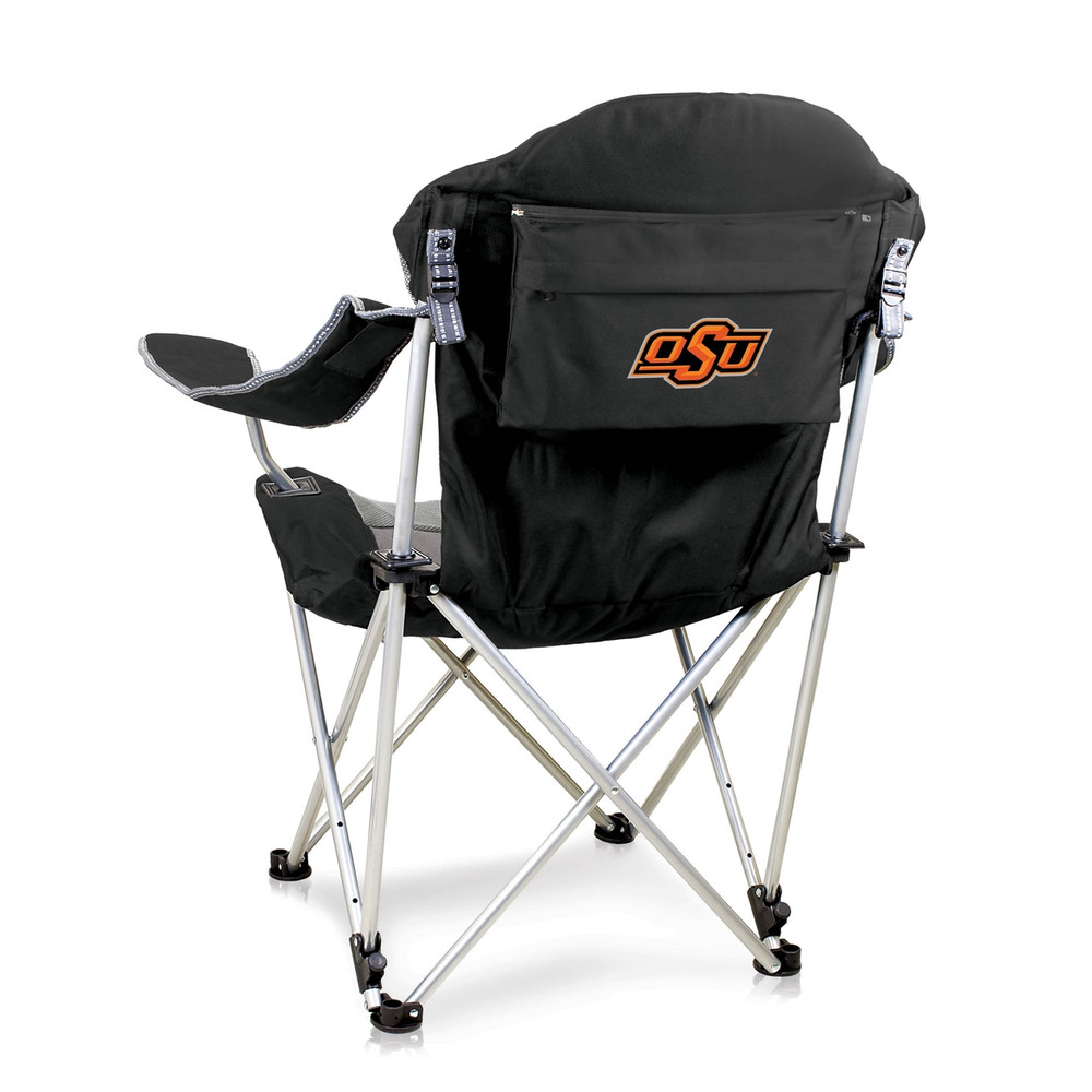Oklahoma State Cowboys Reclining Camp Chair | Picnic Time | 803-00-175-464-0