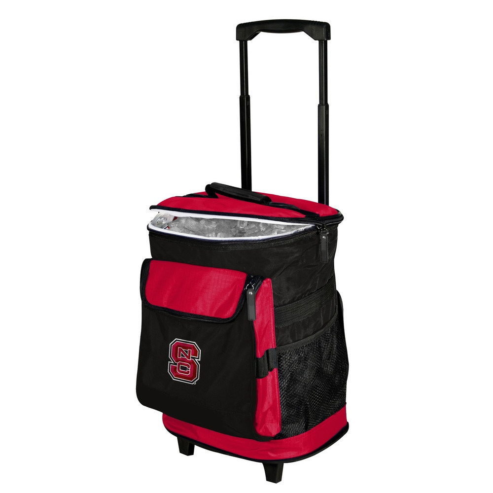 NC State Wolfpack Rolling Cooler | Logo Chair | 186-57B-1