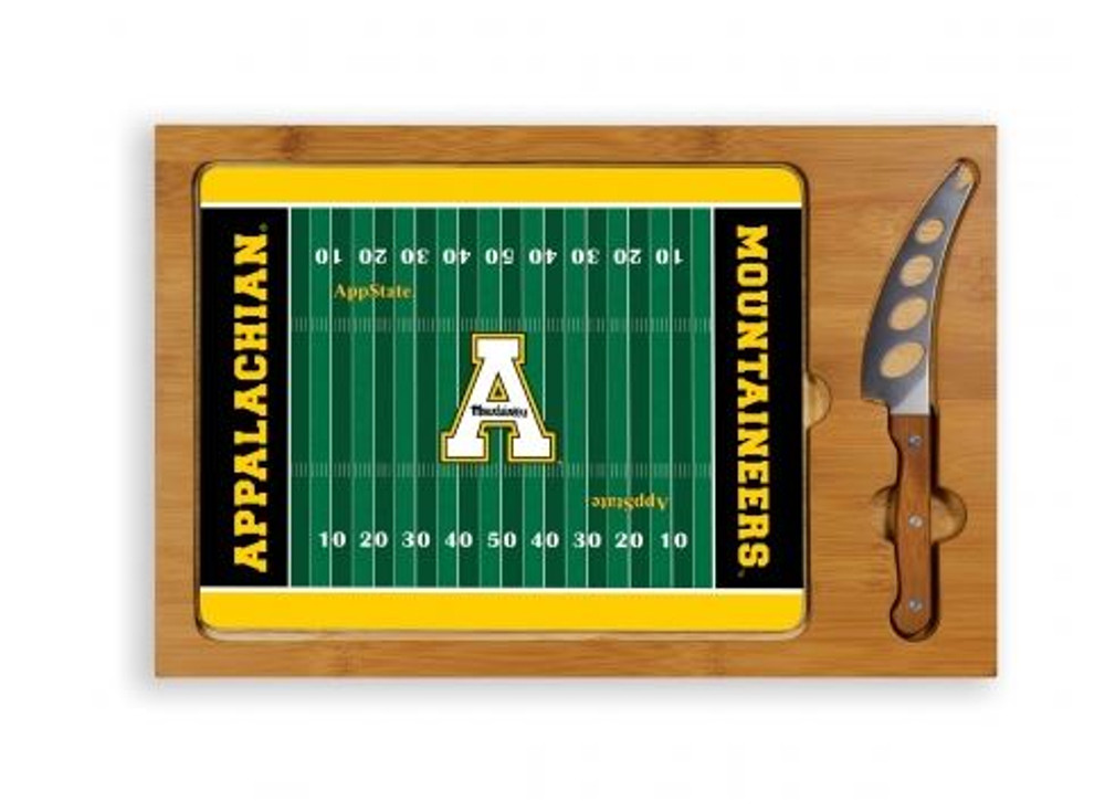 Appalachian State Mountaineers Icon Cheese Tray | Picnic Time | 910-00-505-794-0-2
