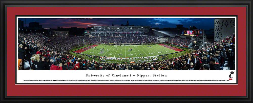 Cincinnati Bearcats Standard Frame Panoramic Photo   Blakeway   UCIN2D