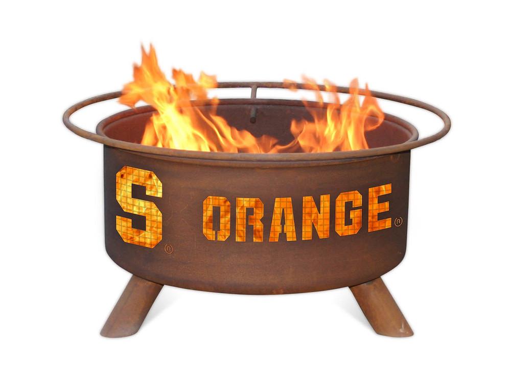 Syracuse Orange Portable Fire Pit Grill | Patina | F215
