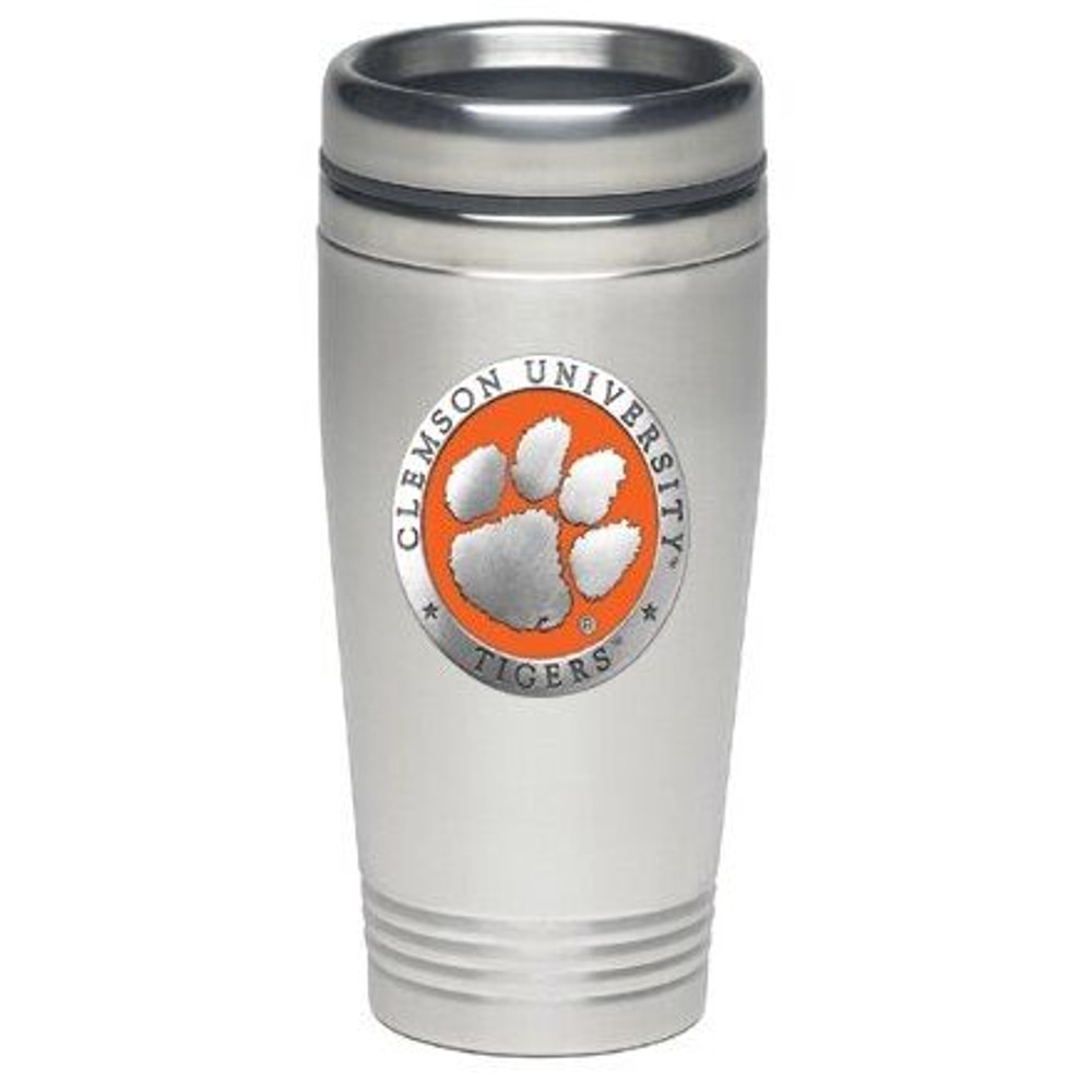 Clemson Tigers Thermal Mug | Heritage Pewter | TD10160EO