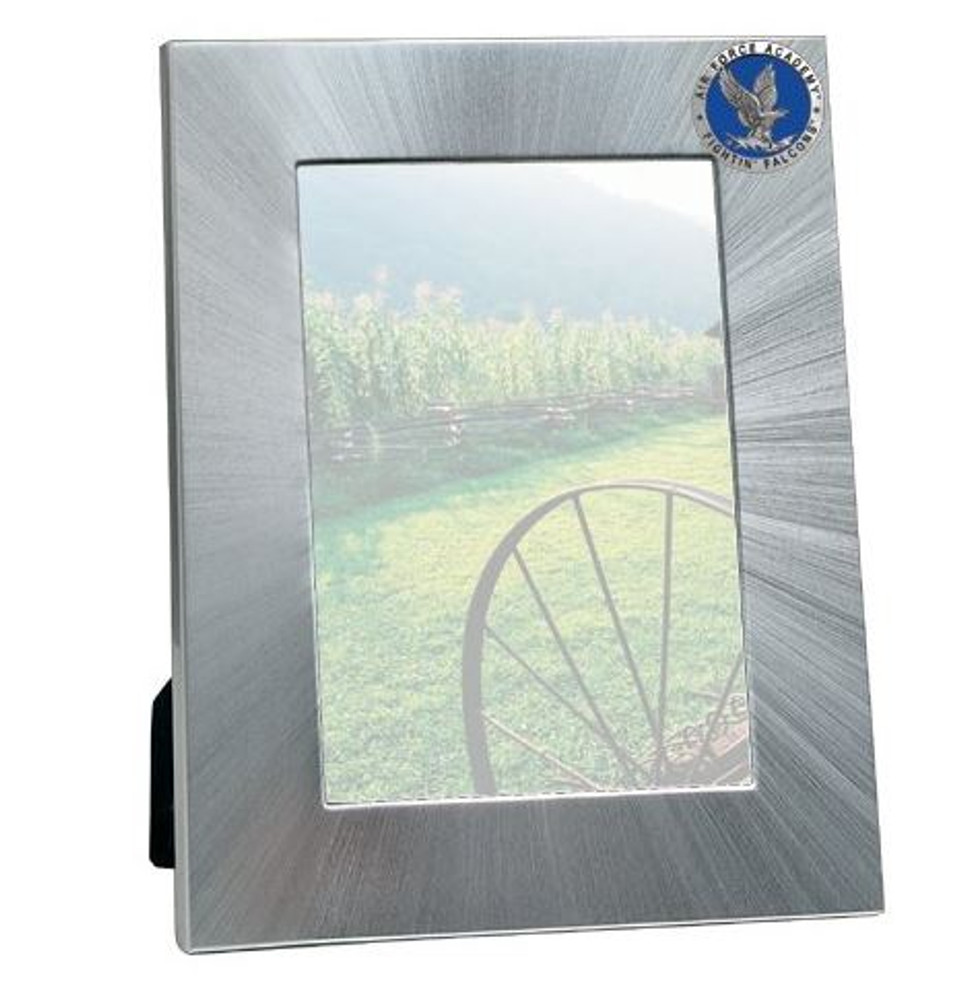 Air Force Academy 4x6 Picture Frame   Heritage Pewter   FR10271EBMD