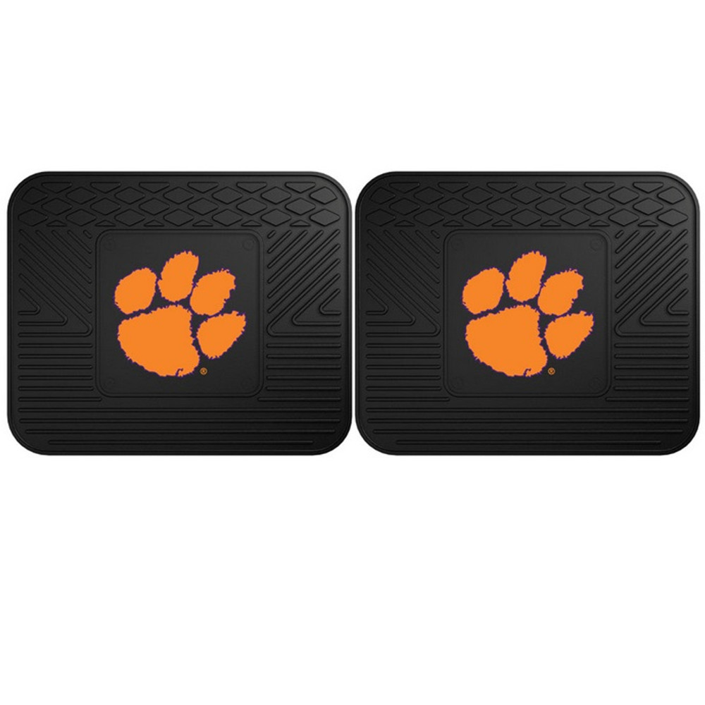 Clemson Tigers Utility Car Mats Set of Two | Fanmats | 12257