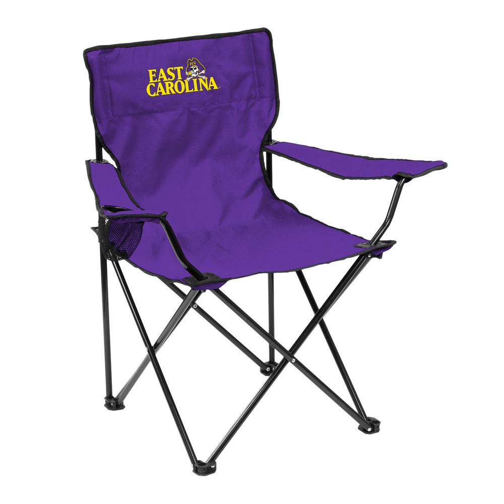 East Carolina Pirates Quad Tailgate Chair | Logo Art |131-13Q
