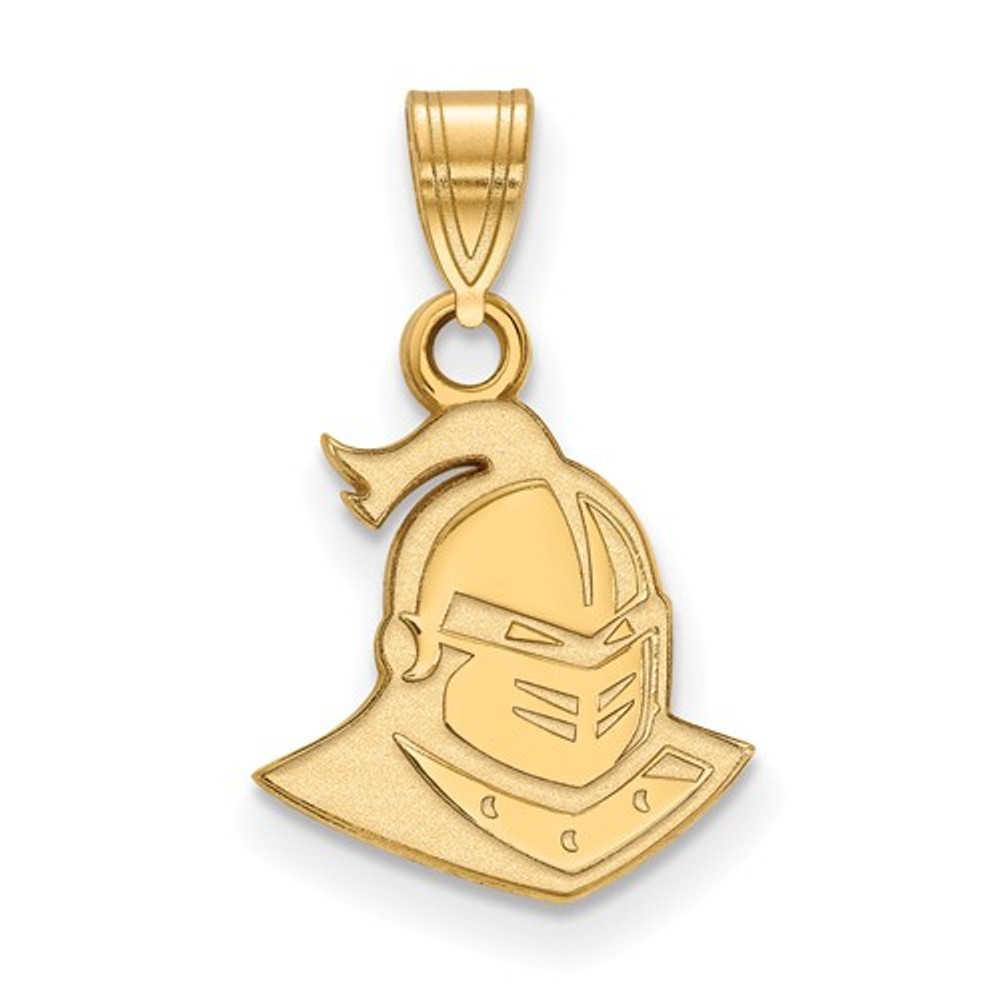 UCF Knights 14k Yellow Gold Small Pendant | Logo Art | 4Y028UCF