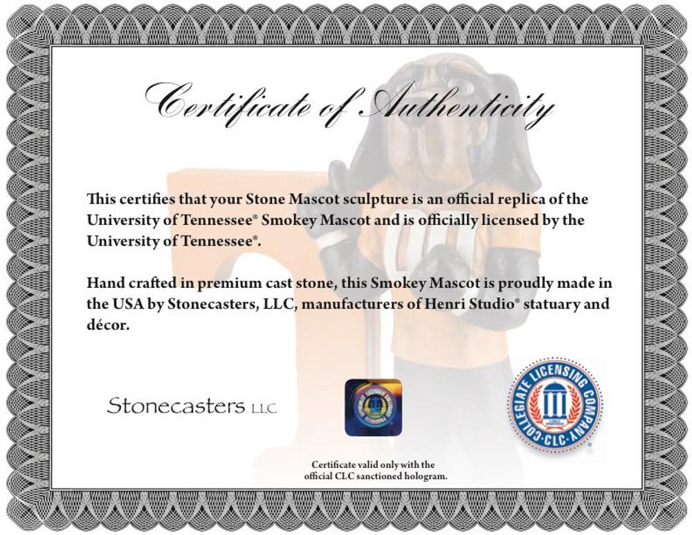 Tennessee Volunteers Mascot Garden Statue | Stonecasters | 2971HT-1