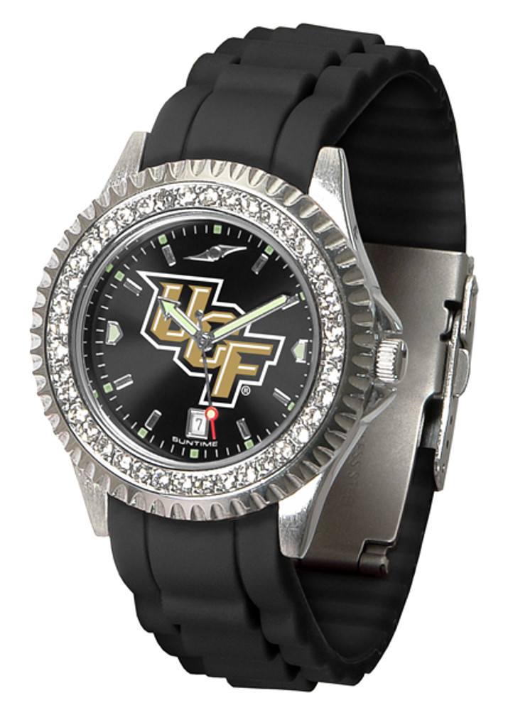 UCF Knights Ladies Sparkle Watch   SunTime   ST-CO3-UCF-SPARKLE