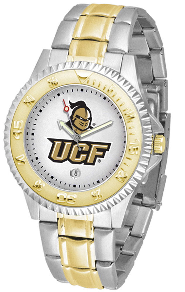 UCF Knights Men's Competitor Two-Tone Watch   SunTime   ST-CO3-UCF-COMPMG