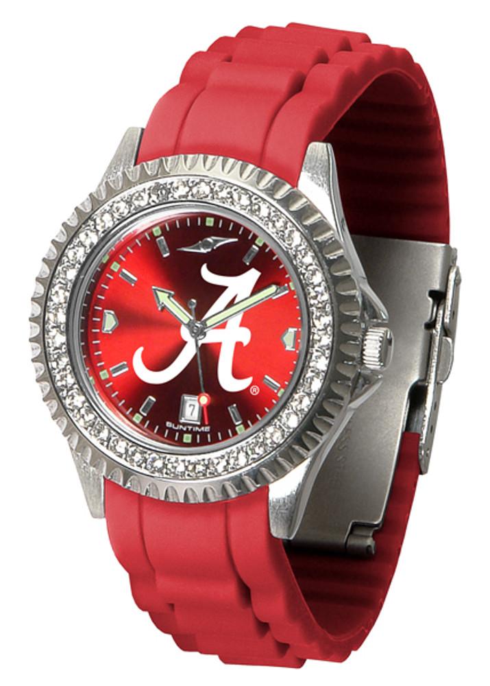 Alabama Crimson Tide Ladies Sparkle Watch | SunTime | ST-CO3-ACT-SPARKLE