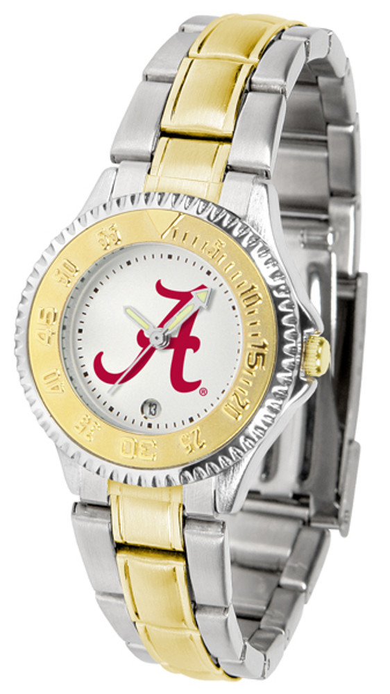 Alabama Crimson Tide Ladies Competitor Two-Tone Watch | SunTime | ST-CO3-ACT-COMPLMG