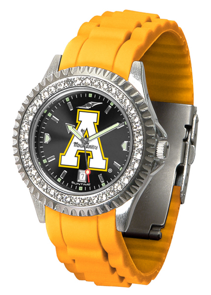 Appalachian State Mountaineers Ladies Sparkle Watch | SunTime | ST-CO3-ASM-SPARKLE
