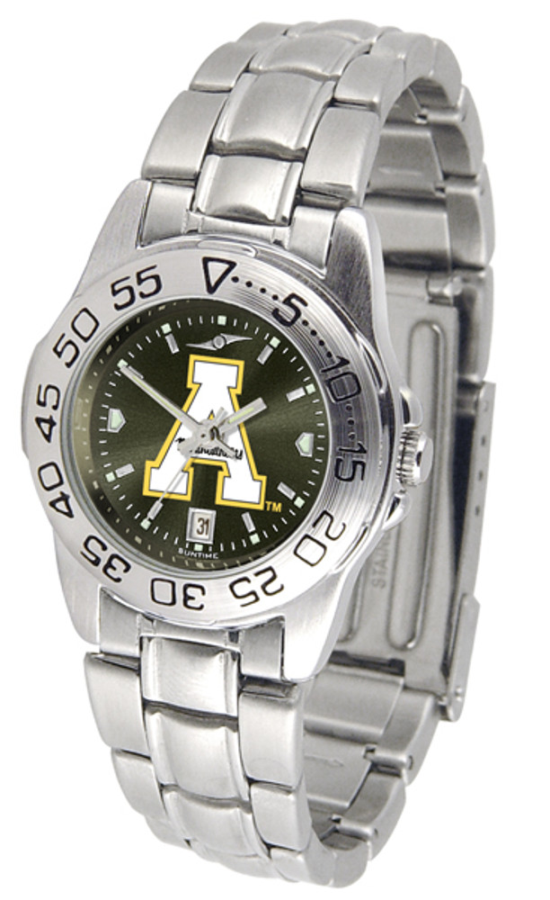 Appalachian State Mountaineers Ladies Sport Steel AnoChrome Watch | SunTime | ST-CO3-ASM-SPORTLM-A