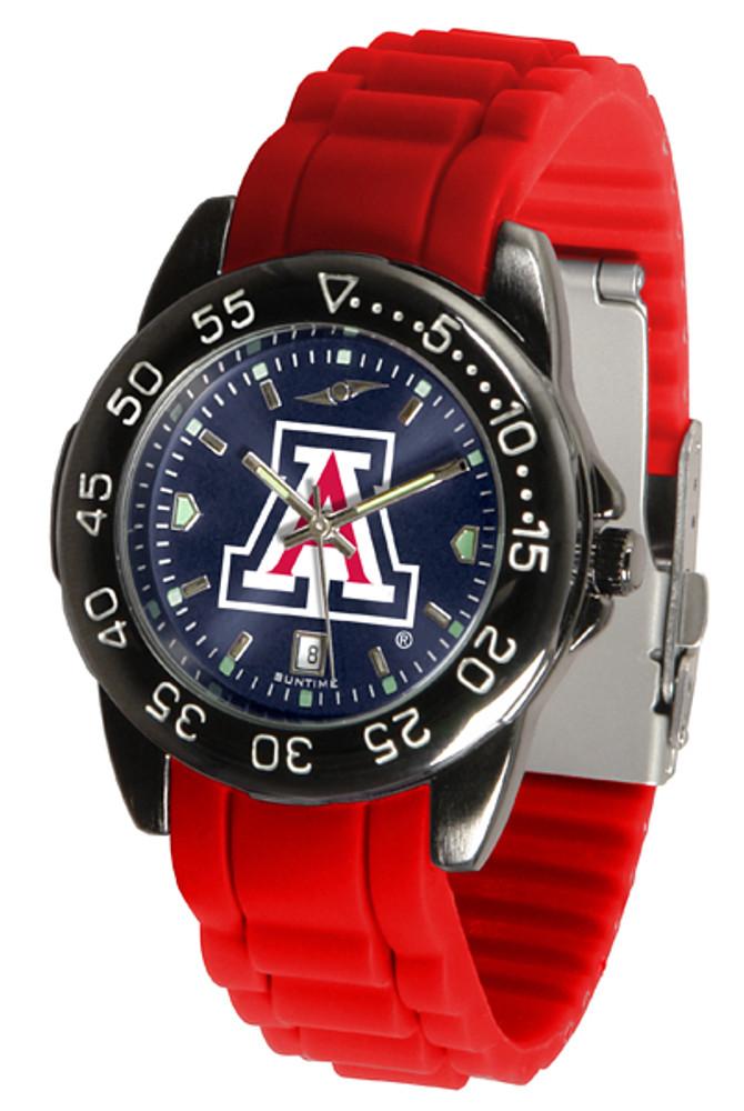Arizona Wildcats Men's Fantom Sport AC AnoChrome Watch | SunTime | ST-CO3-AZW-FANTOM-AC