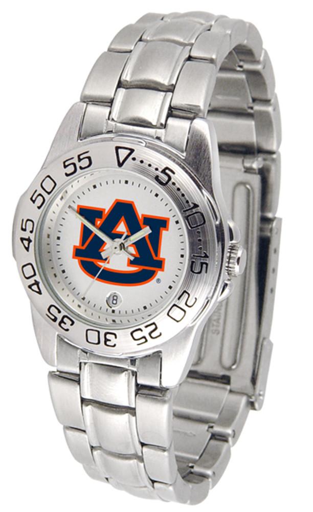 Auburn Tigers Ladies Sport Steel Watch | SunTime | ST-CO3-AUT-SPORTLM