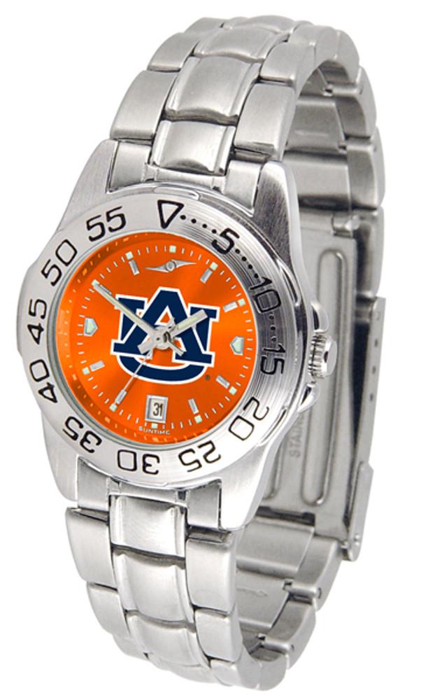 Auburn Tigers Ladies Sport Steel AnoChrome Watch   SunTime   ST-CO3-AUT-SPORTLM-A