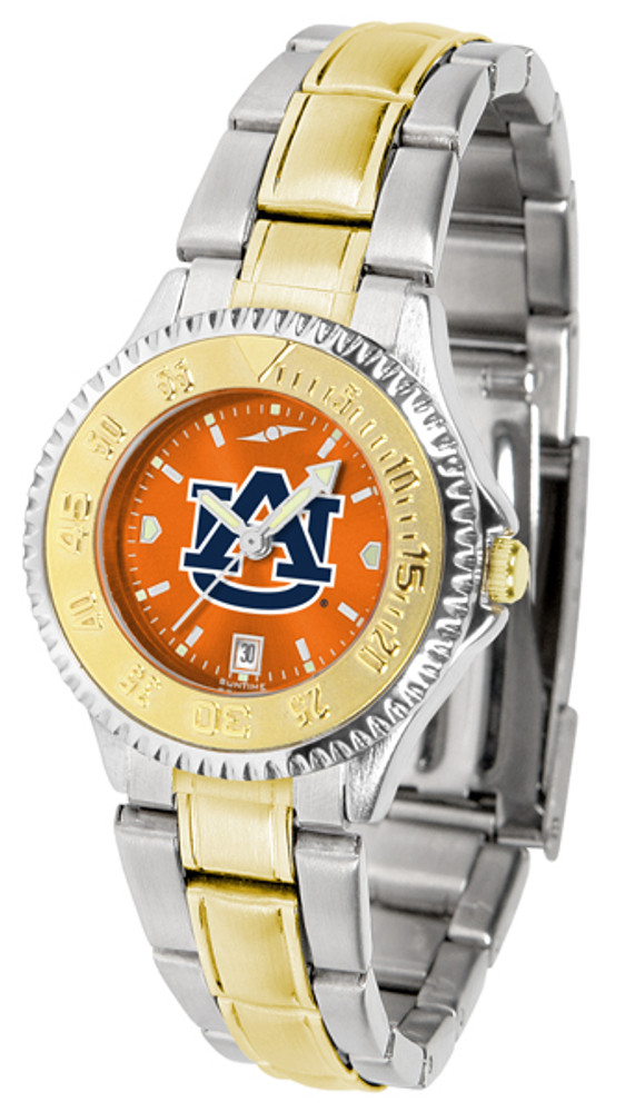Arkansas Razorbacks Ladies Competitor Two-Tone AnoChrome Watch | SunTime | st-co3-aut-complmg-a