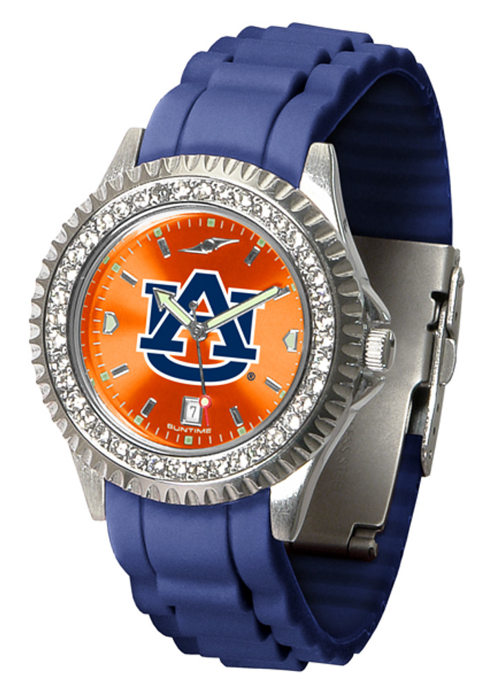Auburn Tigers Ladies Sparkle Watch | SunTime | ST-CO3-AUT-SPARKLE
