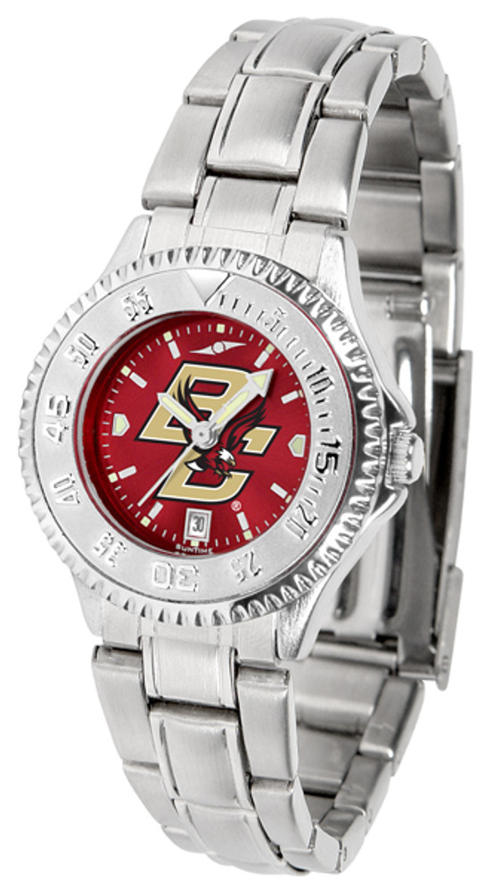 Boston College Eagles Ladies Competitor Steel AnoChrome Watch | SunTime | st-co3-bce-complm-a