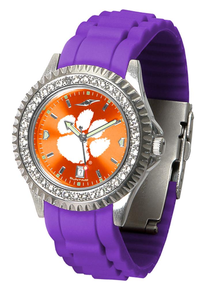 Clemson Tigers Ladies Sparkle Watch | SunTime | ST-CO3-CLT-SPARKLE