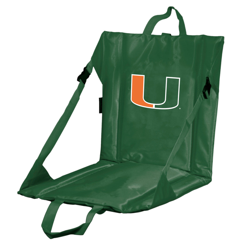 Miami Hurricanes Stadium Seat | Logo Chair |169-80
