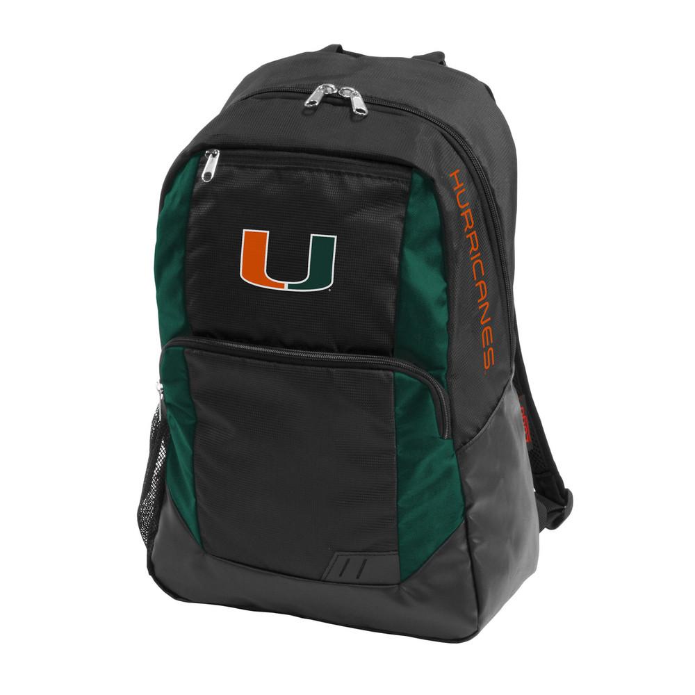 Miami Hurricanes Closer Backpack | Logo Chair | 169-86