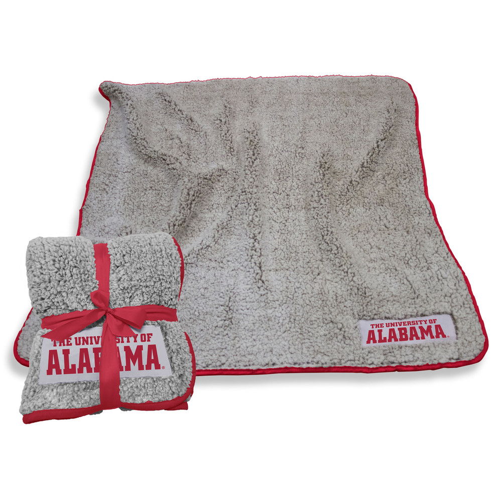 Alabama Crimson Tide Frosty Fleece Blanket Blanket | Logo Chair | 102-26A