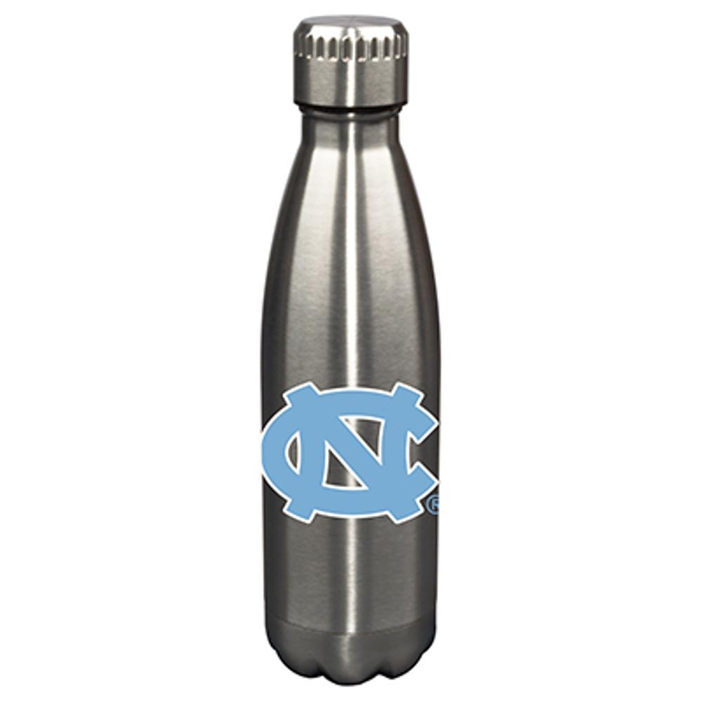 UNC Tar Heels 17oz Stainless Steel Water Bottle   Memory Company   MEM-NC-710101