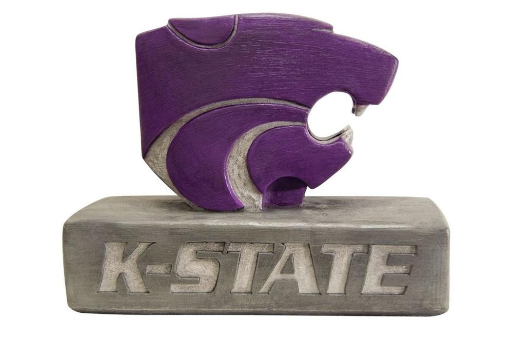 Kansas State Wildcats Mascot Garden Statue