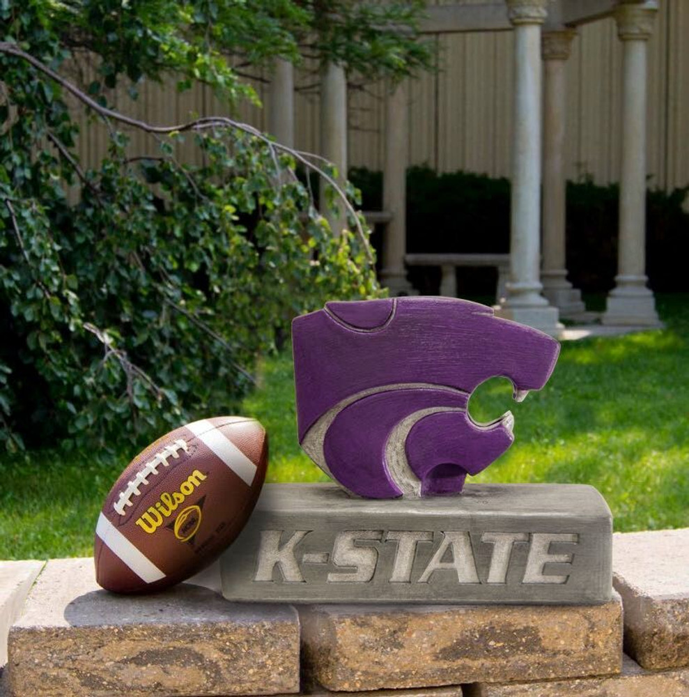 Kansas State Wildcats Mascot Garden Statue | Stonecasters | 2963HT
