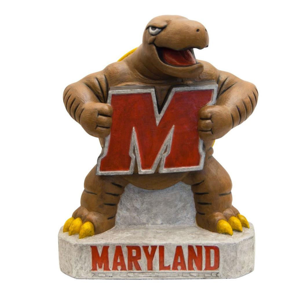Maryland Terrapins Mascot Garden Statue