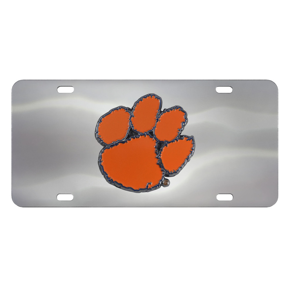 Clemson Tigers Diecast License Plate | Fanmats | 24529