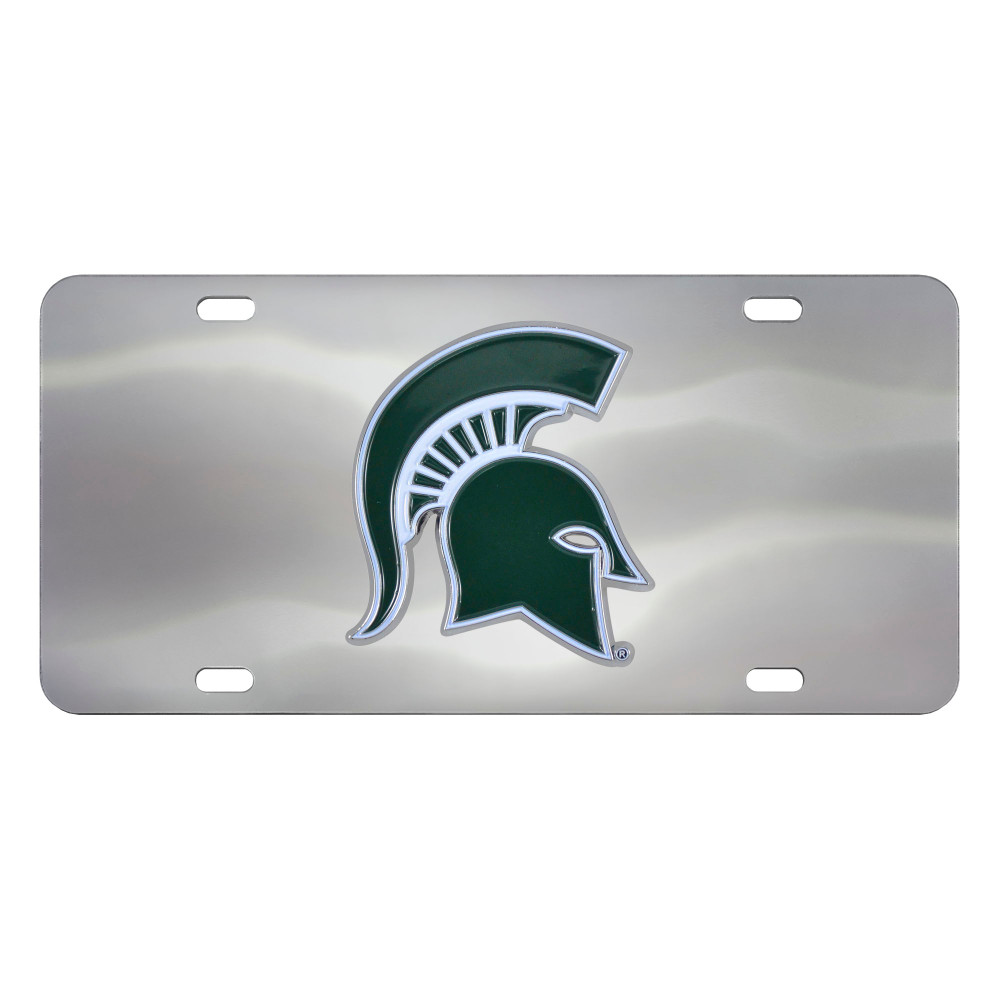 Michigan State Spartans Diecast License Plate | Fanmats | 24524