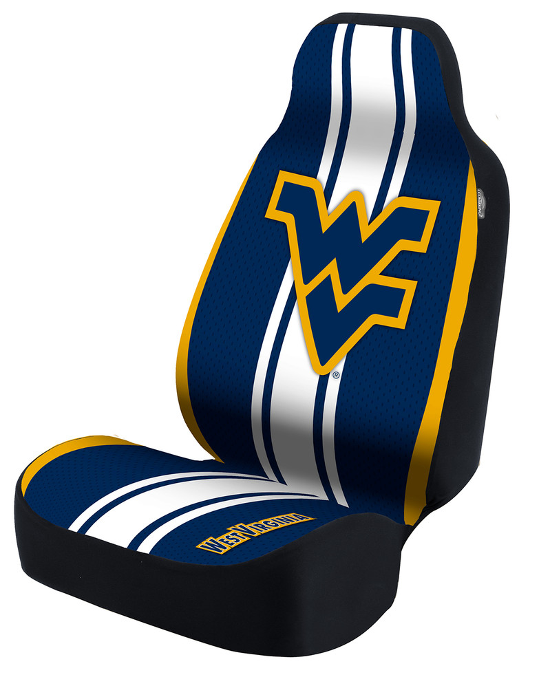 West Virginia Mountaineers Universal Car Seat Cover | Coverking | USCSELA012