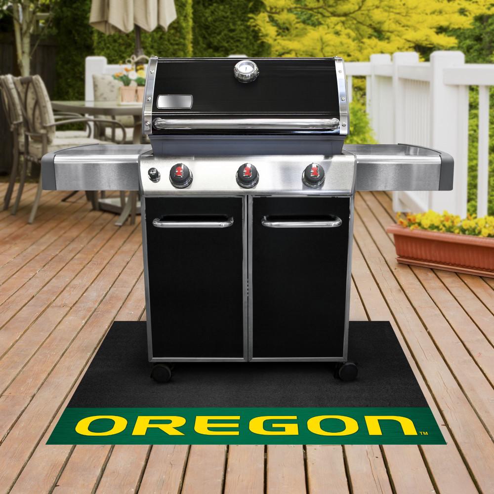 Oregon Ducks Grill Mat   Fanmats   16849