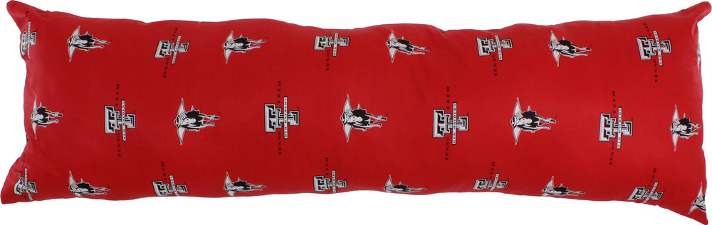 Texas Tech Raiders Body Pillow | College Covers | TTUDP60