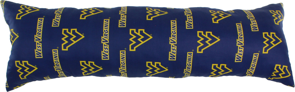 West Virginia Mountaineers Body Pillow | College Covers | WVADP60