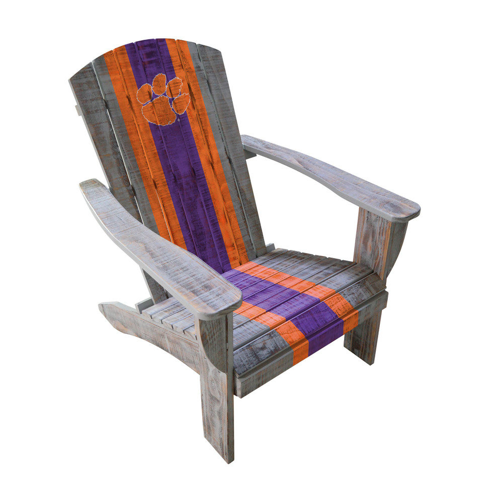 Clemson Tigers Wooden Adirondack Chair | Imperial International | 711-7043