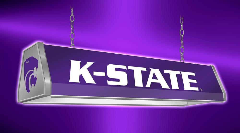 "Kansas State Wildcats 38"" Standard Pool Table Light-Purple | Grimm Industries | KS-310-01"